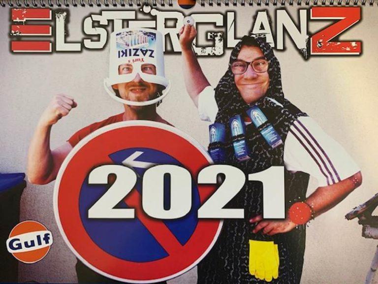 ELSTERGLANZ Kalender 2021 an den GULF Tankstellen erhältlich